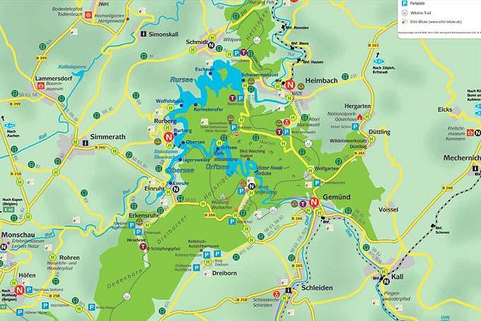 Nationalpark Eifel Karte.Nationalpark Eifel Infothek Nabu Nrw