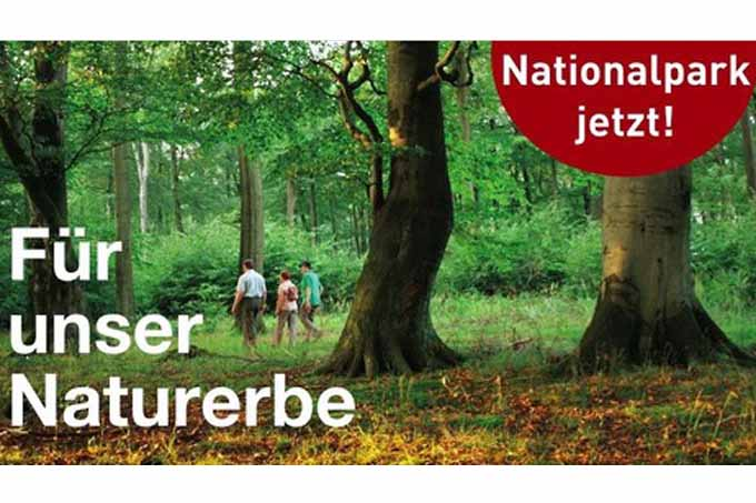 Nationalparkkampagne Senne