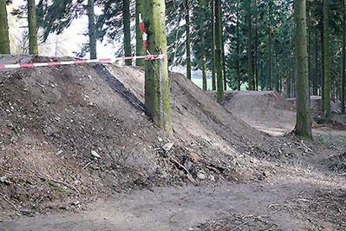 Mountainbike-Park Huertgenwald Foto: Doris Siehoff